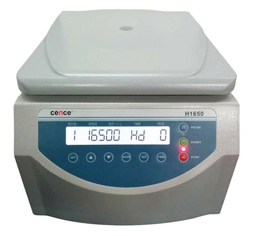 Cence CNC-106 H1650 Tabletop High Speed Centrifuge