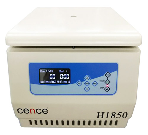 Cence CNC-107 H1850 Tabletop High Speed Centrifuge
