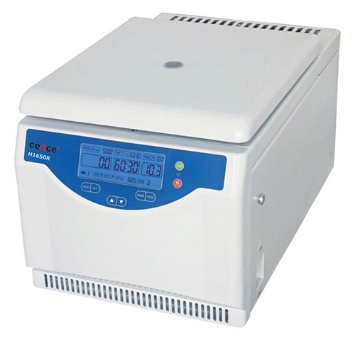 Cence CNC-109 H1650-R Tabletop High Speed Refrigerated Centrifuge